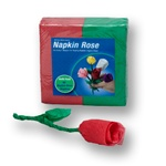 RED/Green Napkin Rose Refill - 50 napkins