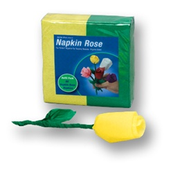 YELLOW/Green Napkin Rose Refill - 50 napkins